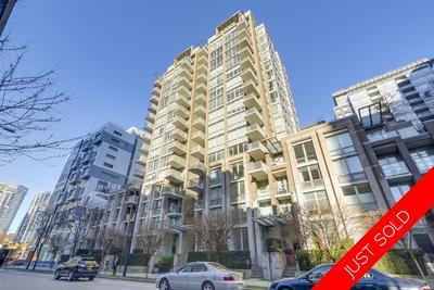 Yaletown Condo with balcony for sale: The Donovan 1 plus den 578 sq.ft. (Listed 2018-03-14)